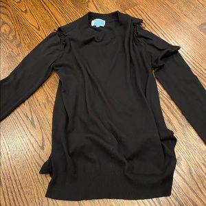 Feel the piece black sweater
